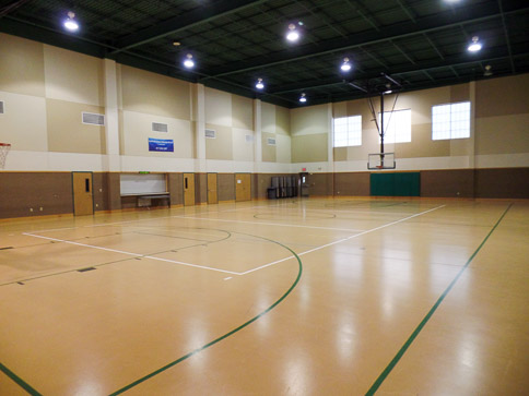 "<p style=""text-align: left;"">The gymnasium fits any type of occasion.  This facility has served as a community gathering place in Benbrook for many years. </p>"