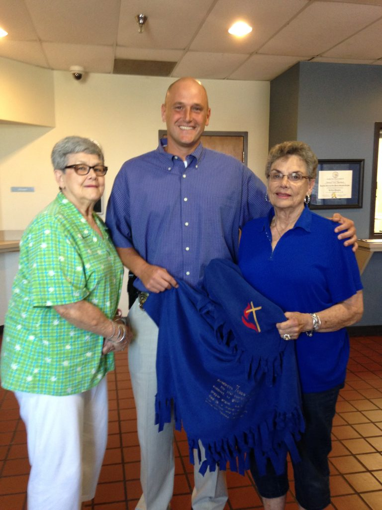 Prayer shawl for the Benbrook police dept